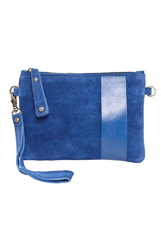Bea Clutch Blue Quartz - I.N.K Collection
