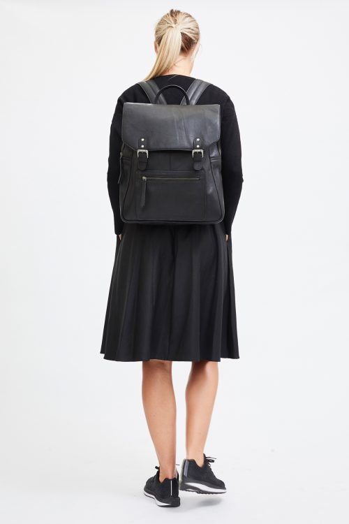 Luna Backpack Black - I.N.K Collection