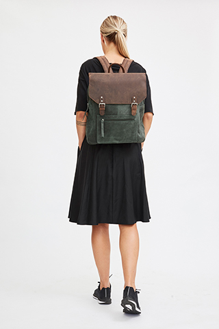 Luna Backpack Thyme - I.N.K Collection