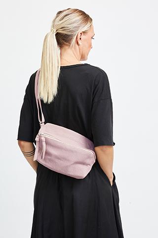 Vega Bumbag Leather Adobe Rose- I.N.K Collection