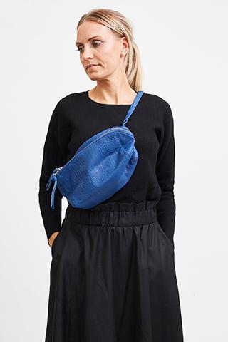 Vega Bumbag Leather Blue Quartz - I.N.K Collection
