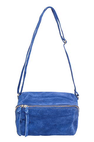 Vega Bumbag Suede Blue Quartz - I.N.K Collection
